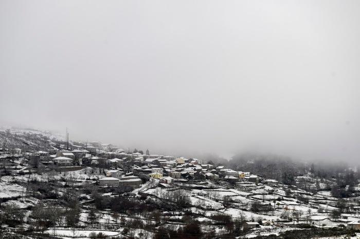 Neve na Serra d'Aires