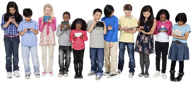criancas-telemoveis